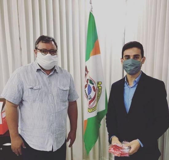 Enfrentamento do COVID: Coordenador do Núcleo de Empresários de Camboriú participa de reunião com o prefeito do município