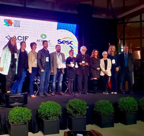 Prêmio ODS SC 2019 reconheceu iniciativas; Acibalc esteve entre as finalistas
