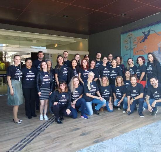 Representantes do Núcleo da Mulher e de Jovens participam de capacitação em Florianópolis
