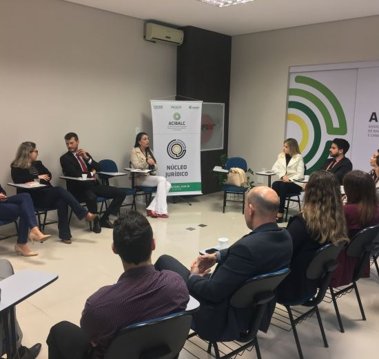 Semana dos Núcleos - 2ª edição do Café Juridico reúne profissionais do direito em evento na Acibalc